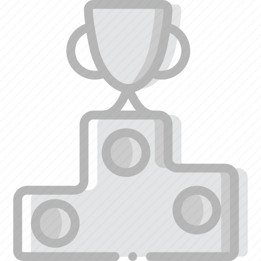 game, play, podium, sport icon