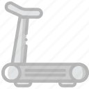 game, play, sport, treadmill