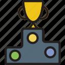 play, podium, sport, game