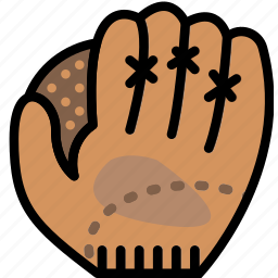 baseball, game, glove, play, sport icon