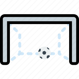 game, gate, play, soccer, sport icon
