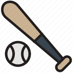 baseball, bat, game, play, sport icon