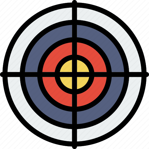 game, play, shooting, sport, target icon