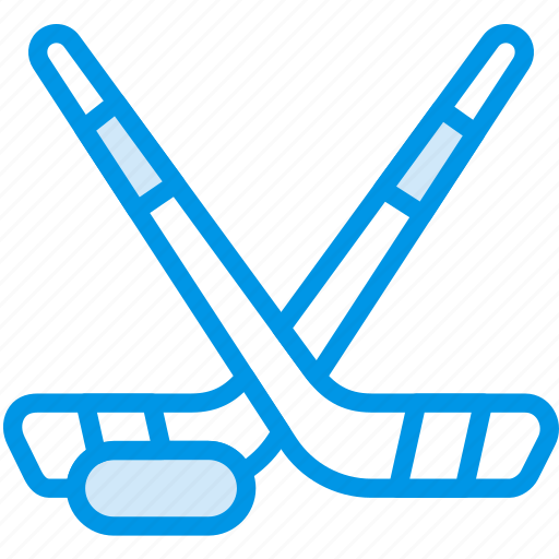 clubs, game, hockey, play, sport icon