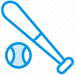 baseball, bat, game, play, sport icon