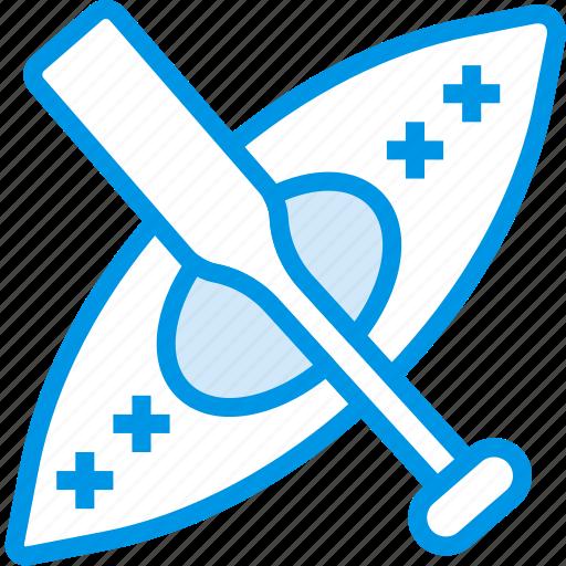 game, kayaking, play, sport icon