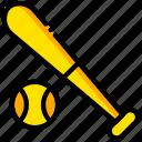 baseball, bat, game, play, sport