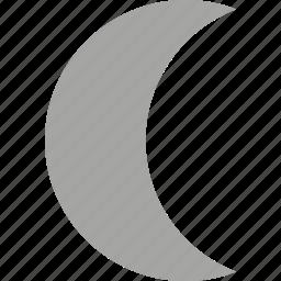 moon, sign, symbolism, symbols icon
