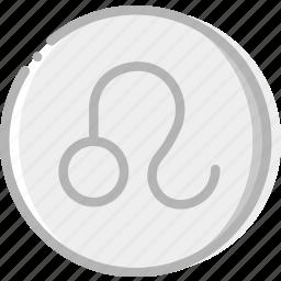 leo, sign, symbolism, symbols icon