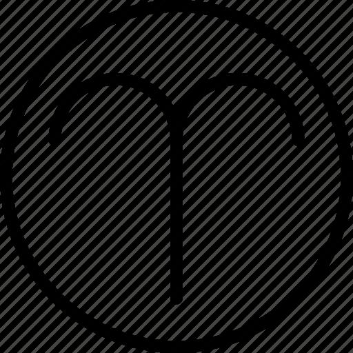 aries, sign, symbolism icon