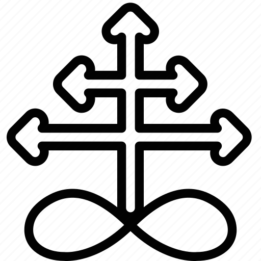 sign, sulphur, symbolism icon