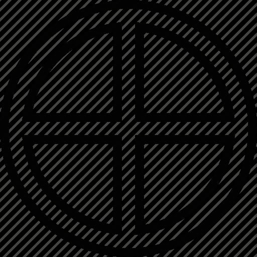 earth, sign, symbolism icon
