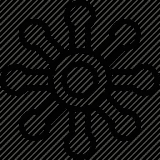 gods, shield, sign, symbolism icon