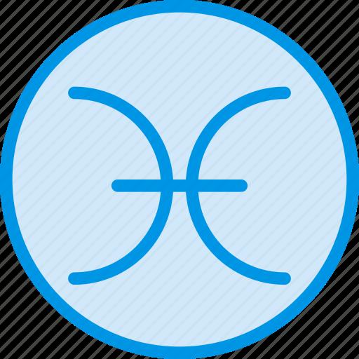 pisces, sign, symbolism, symbols icon