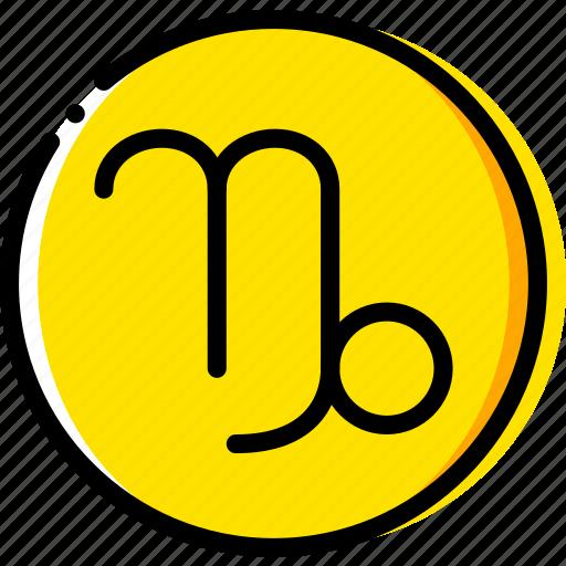 capricorn, sign, symbolism, symbols icon