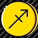 sagitarius, sign, symbolism, symbols icon