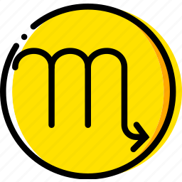 scorpio, sign, symbolism, symbols icon