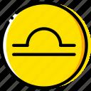 libra, sign, symbolism, symbols icon