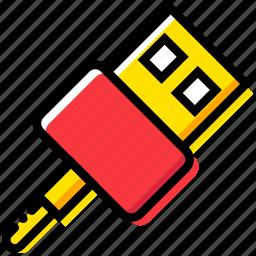 device, gadget, technology, usb icon