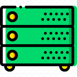 device, gadget, servers, technology icon