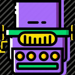 device, gadget, technology, typewriter icon