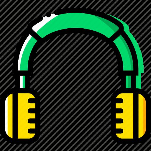 device, gadget, headphones, technology icon