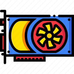 card, device, gadget, technology, video icon