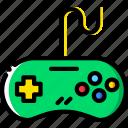 controller, device, gadget, genesis, sega, technology icon