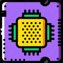 arm, device, gadget, processor, technology icon