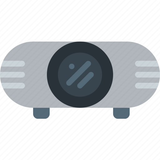 device, gadget, projector, technology icon