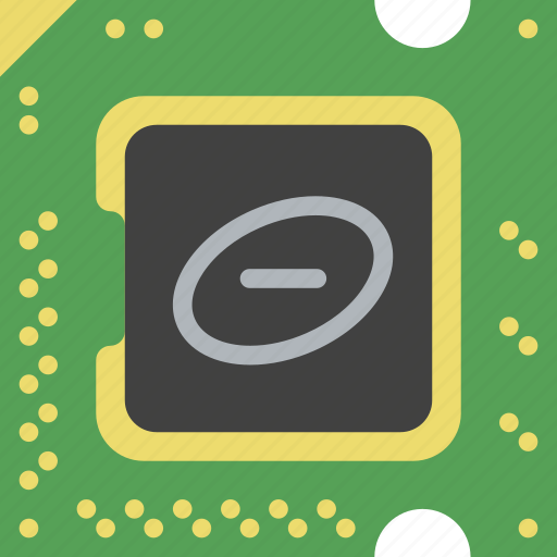 chip, device, gadget, processor, technology icon
