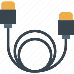 cable, device, gadget, hdmi, technology icon