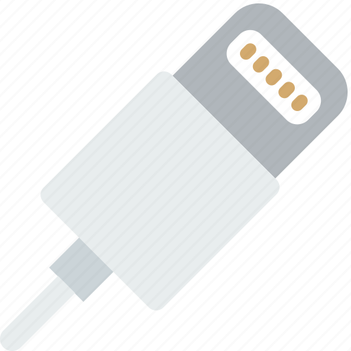 cable, charging, device, gadget, iphone, technology icon