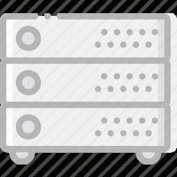 device, gadget, servers, technology icon