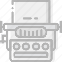 device, gadget, technology, typewriter icon