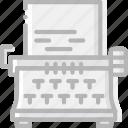device, gadget, technology, typewriter