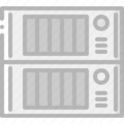 device, gadget, servers, storage, technology icon