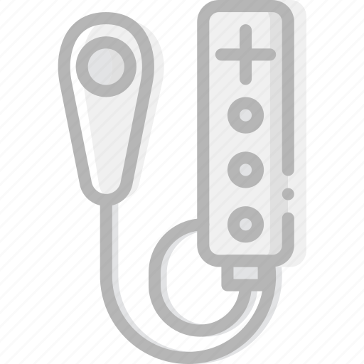 device, gadget, nunchack, technology, wii icon