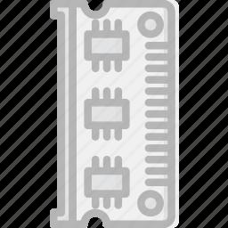 device, gadget, memorry, ram, technology icon