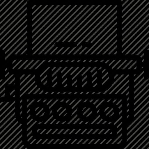device, gadget, technology, typewrite icon