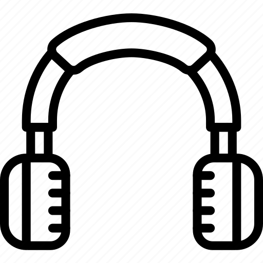 device, gadget, headphones, technology icon