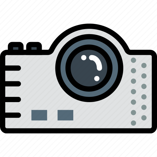 Device, gadget, technology, projector icon