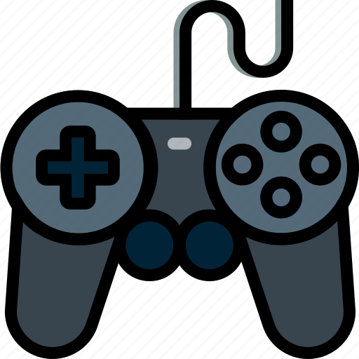 controller, device, gadget, ps2, technology icon
