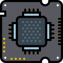 arm, device, gadget, processor, technology icon