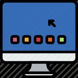 device, gadget, imac, os, technology icon