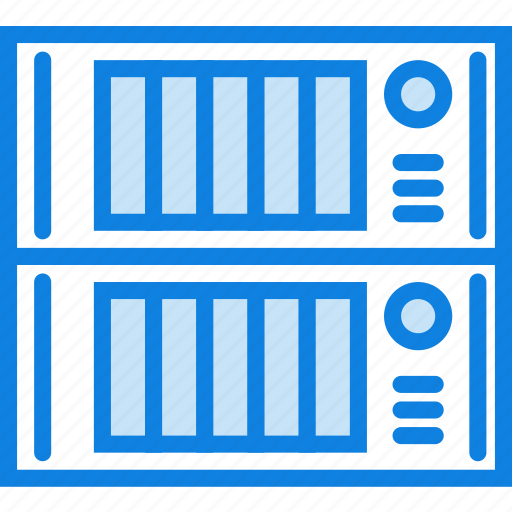 device, gadget, servers, storage, technology icon