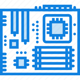 device, gadget, motherboard, technology icon