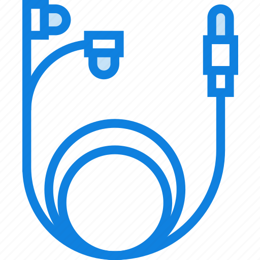 device, earbuds, gadget, headphones, technology icon