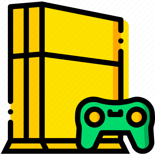 Device, gadget, technology, ps4 icon
