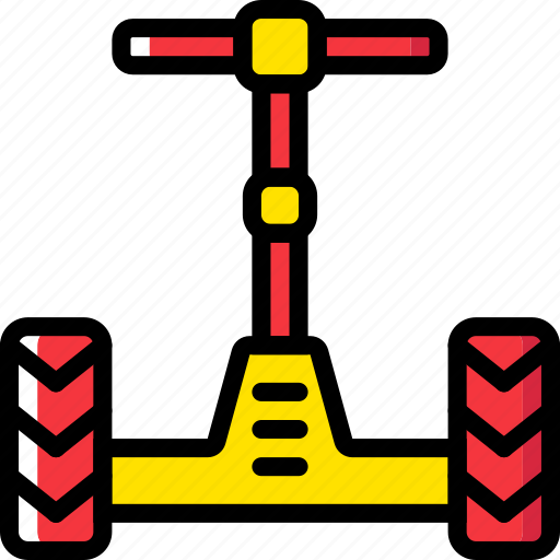 segway, transport, vehicle icon